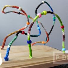 ประดิษฐ์ของเล่น จากไม้นิตติ้ง (Knitting)