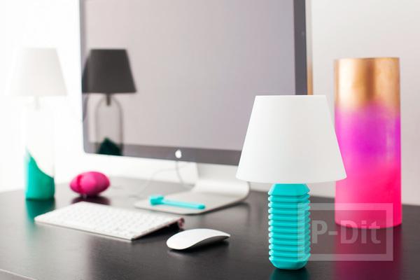 รูป 3 โคมไฟตั้งโต๊ะสวยๆ ตกแต่งแบบง่ายๆ