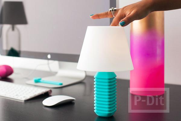 รูป 4 โคมไฟตั้งโต๊ะสวยๆ ตกแต่งแบบง่ายๆ
