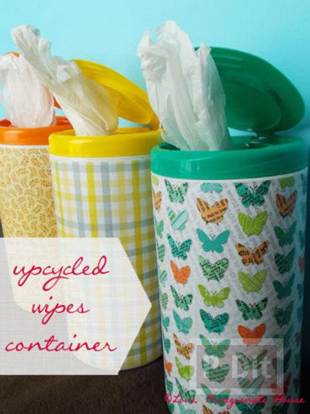 รูป 1 ทำที่ใส่ถุงพลาสติกใบเก่า จะกระป๋อง