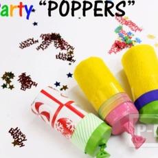 ทำของเล่น งานปาร์ตี้ ปืนยิงดาว จากลูกโป่ง-แกนกระดาษทิชชู