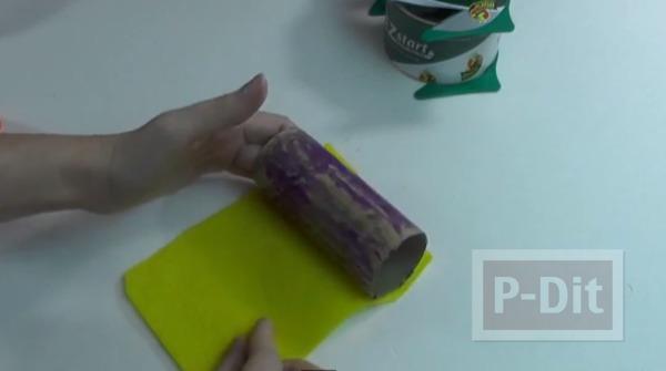 รูป 3 ทำของเล่น งานปาร์ตี้ ปืนยิงดาว จากลูกโป่ง-แกนกระดาษทิชชู