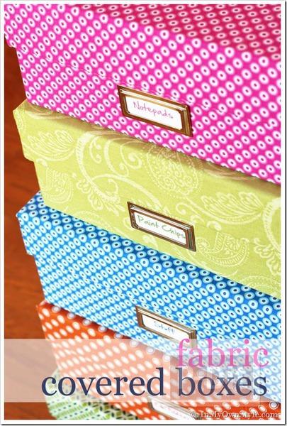 รูป 6 กล่องเก็บของ ประดิษฐ์จากกล่องรองเท้า