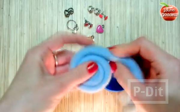 รูป 3 ประดิษฐ์ที่ใส่เครื่องประดับ แหวน ต่างหู แบบง่ายๆ