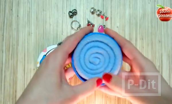 รูป 4 ประดิษฐ์ที่ใส่เครื่องประดับ แหวน ต่างหู แบบง่ายๆ