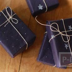 ไอเดียห่อของขวัญสวยๆ จากกระดาษสีสด