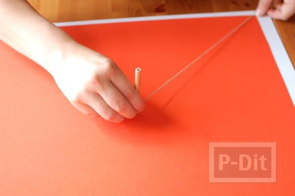 รูป 4 กรวยใส่ขนม ประดิษฐ์จากกระดาษ