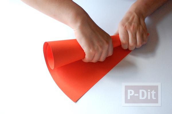รูป 6 กรวยใส่ขนม ประดิษฐ์จากกระดาษ