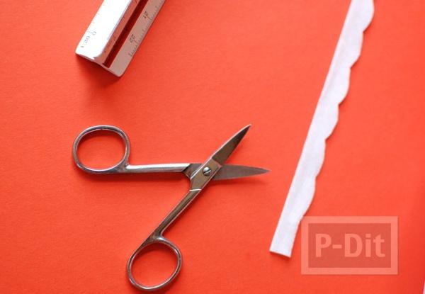 รูป 7 กรวยใส่ขนม ประดิษฐ์จากกระดาษ