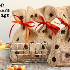 ประดิษฐ์ถุงใส่ขนม แจกวันฮาโลวีน