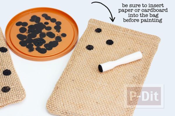 รูป 4 ประดิษฐ์ถุงใส่ขนม แจกวันฮาโลวีน
