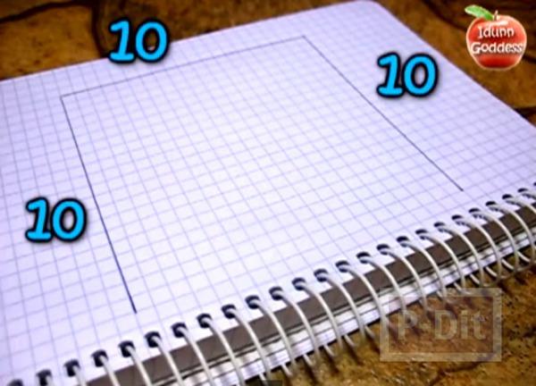รูป 2 สอนพับกระดาษคั่นหนังสือ