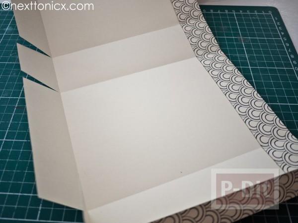 รูป 2 ประดิษฐ์ถุงของขวัญ จากกระดาษแข็ง ลายสวย