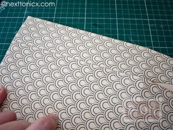 รูป 3 ประดิษฐ์ถุงของขวัญ จากกระดาษแข็ง ลายสวย