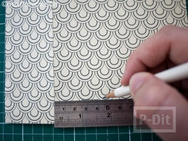 รูป 5 ประดิษฐ์ถุงของขวัญ จากกระดาษแข็ง ลายสวย