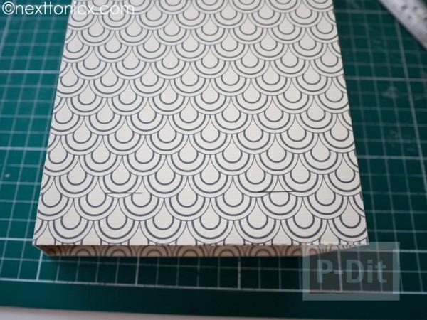 รูป 6 ประดิษฐ์ถุงของขวัญ จากกระดาษแข็ง ลายสวย