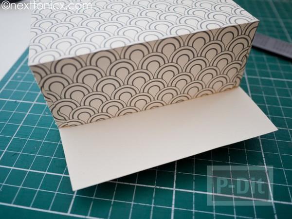 รูป 7 ประดิษฐ์ถุงของขวัญ จากกระดาษแข็ง ลายสวย