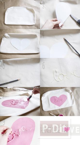 รูป 3 ระบายสีปลอกหมอน ส่งมอบความรัก