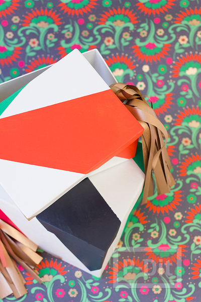 รูป 6 สอนตกแต่งกล่องของขวัญ เทศกาลปีใหม่