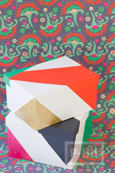 รูป 7 สอนตกแต่งกล่องของขวัญ เทศกาลปีใหม่