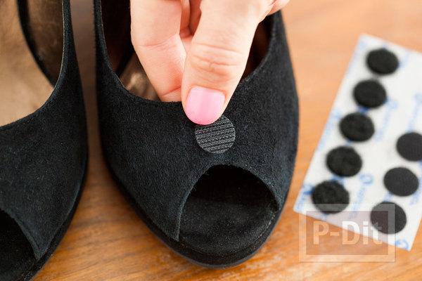 รูป 7 ตกแต่งรองเท้า น่ารักๆ จากดอกไม้ โบว์ ขนนก…