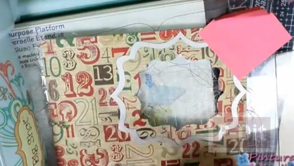 รูป 3 การ์ดเล็กๆ ประดับกล่องของขวัญ วันคริสต์มาส