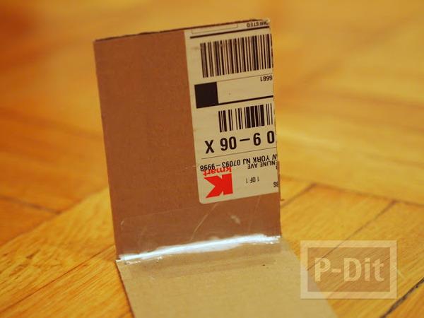 รูป 3 กล่องใส่กระดาษทิชชู ทำเอง น่ารัก ลายช้างสีฟ้า