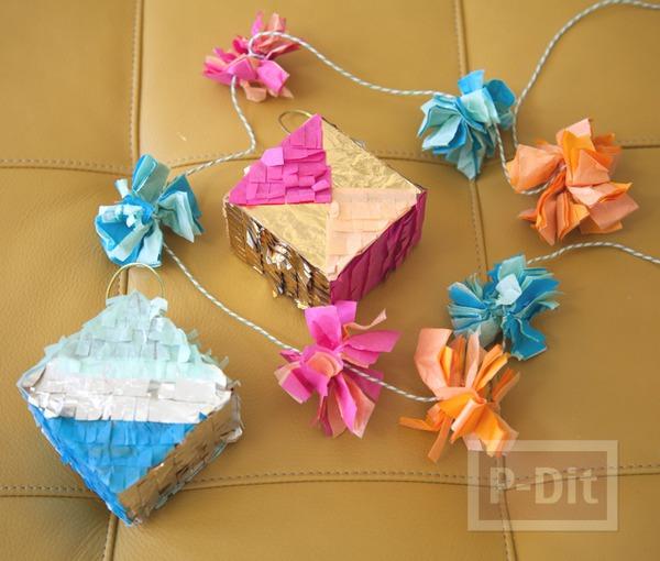 รูป 1 ของประดับตกแต่งบ้าน งานปาร์ตี้ ประดับกล่องของขวัญ