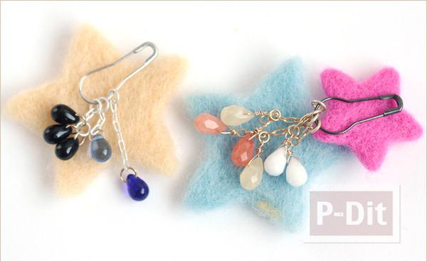 รูป 3 เปลี่ยนเครื่องประดับ เป็นต่างหู สีสวยสด