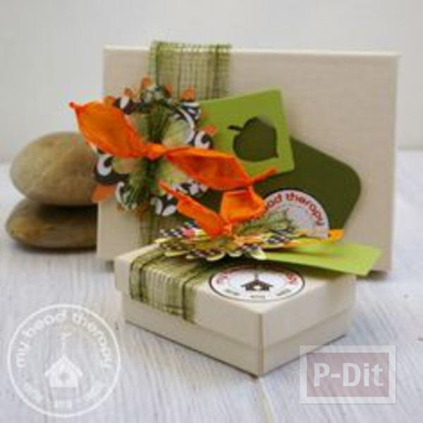 ไอเดียทำกล่องของขวัญแสนสวย เทศกาลส่งความสุข