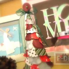 ทำต้นคริสต์มาสสวยๆ ประดิษฐ์จากกระดาษ