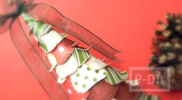 รูป 2 ทำต้นคริสต์มาสสวยๆ ประดิษฐ์จากกระดาษ