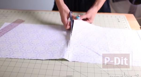 รูป 3 กระเป๋าใส่ดินสอ ใส่เครื่องสำอาง ทำเอง