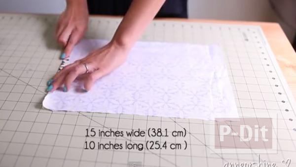 รูป 4 กระเป๋าใส่ดินสอ ใส่เครื่องสำอาง ทำเอง