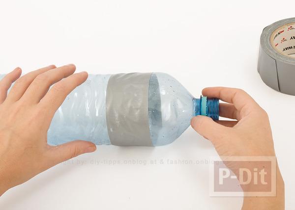 รูป 7 กำไลข้อมือ ทำจากขวดน้ำพลาสติก