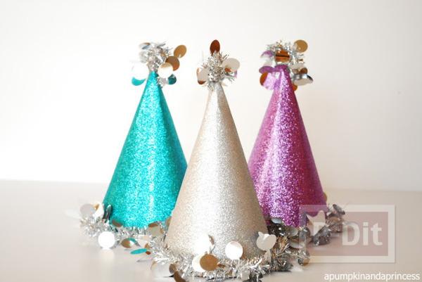 รูป 5 ประดิษฐ์หมวกงานปาร์ตี้ วันคริสต์มาส ปีใหม่