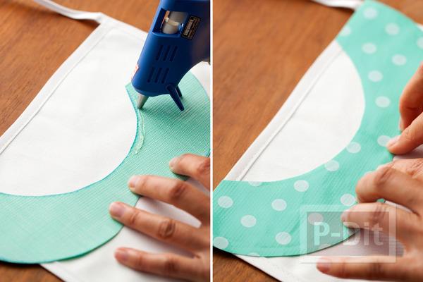 รูป 6 ผ้ากันเปื้อน ตกแต่งลายสวย