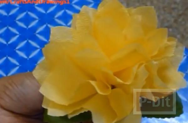 รูป 2 ดอกไม้กระดาษ ทำเองแบบง่ายๆ