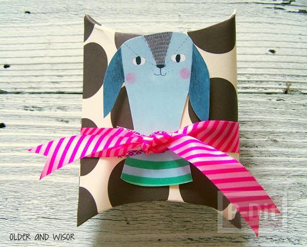 รูป 2 กล่องของขวัญ ทำจากกล่องขนม