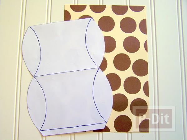 รูป 3 กล่องของขวัญ ทำจากกล่องขนม