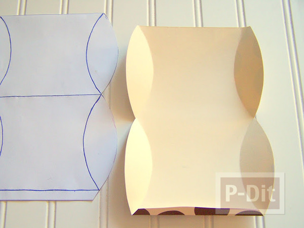 รูป 5 กล่องของขวัญ ทำจากกล่องขนม