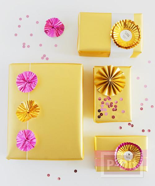 รูป 7 ถ้วยขนมคัพเค้ก นำมาตกแต่ง โมบาย กล่องของขวัญ