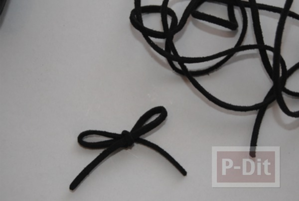 รูป 6 รองเท้าคัชชูสีดำ ตกแต่งประดับโบว์น่ารัก