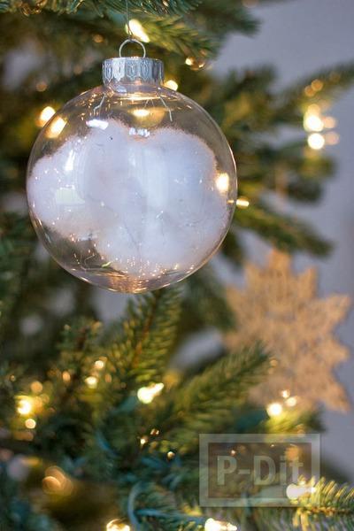 รูป 1 หิมะปลอม ประดับสวย ต้นคริสต์มาส