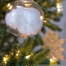 หิมะปลอม ประดับสวย ต้นคริสต์มาส
