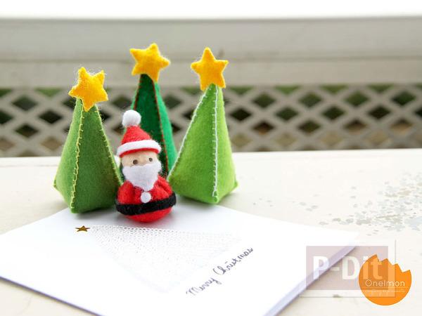 เย็บตุ๊กตา ซานตาครอส ตัวเล็กๆ