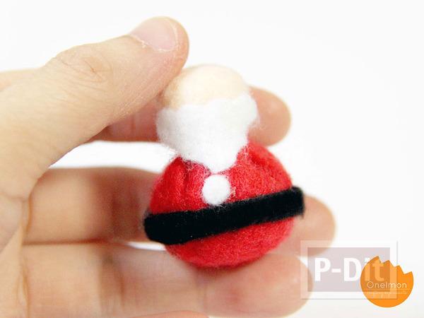 รูป 5 เย็บตุ๊กตา ซานตาครอส ตัวเล็กๆ