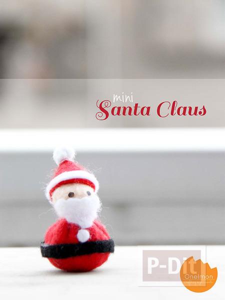 รูป 7 เย็บตุ๊กตา ซานตาครอส ตัวเล็กๆ