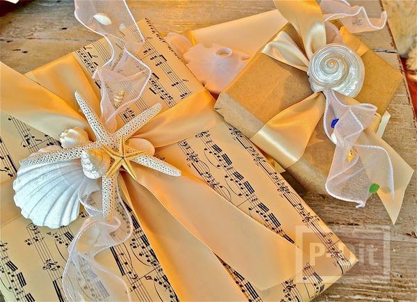 รูป 1 กล่องของขวัญ สวยด้วยเปลือกหอย