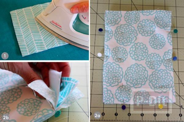 รูป 4 กระเป๋าใส่แว่นตา เย็บเองจากเศษผ้า